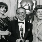 Maggie Smith_Stefan Kudelski_ Maureen Stapleton 1978 Academie Awards Photo Courtesy of The Kudelski Group